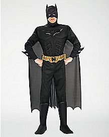 Adult Muscle Chest Batman Costume - The Dark Knight