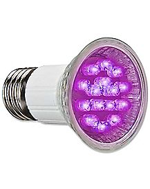 Purple LED Spot Light Bulb