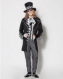 Adult Dark Mad Hatter Costume - Alice in Wonderland