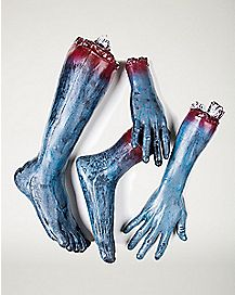 Bag of Zombie Limbs - Decorations