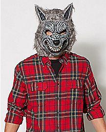 Animotion Gray Werewolf Mask