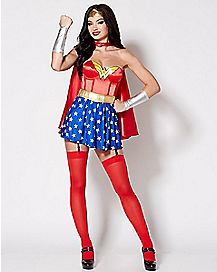 Adult Wonder Woman Corset Costume - DC Comics