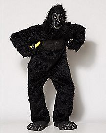 Adult Gorilla One Piece Costume