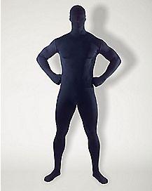 Adult Super Skins® Black Zentai Skin Suit Costume