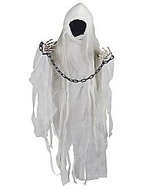 3 ft Animated Faceless Hanging Reaper - Decorations