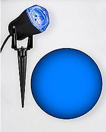 Blue LED Strobe Spot Light