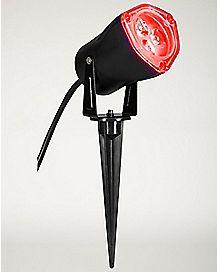 Red LED Strobe Spotlight