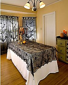 Lace Spider Web Tablecloth