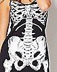 Printed Holographic Skeleton Dress