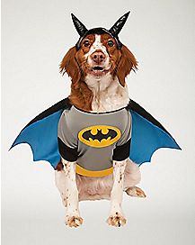 Batman Pet Costume - DC Comics & Dog Costumes | Pet Costumes | Pet u0026 Dog Halloween Costumes - Spenceru0027s