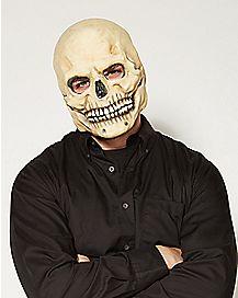 Over the Head Bone Skull Mask