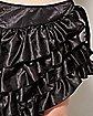 Ruffled Skirt Black
