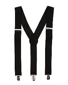 Jet Black Suspenders