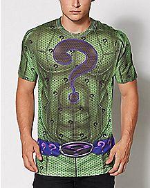 Adult Muscle Riddler T Shirt - DC Comics