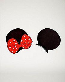 Minnie Mouse Ears Hair Clips - Disney
