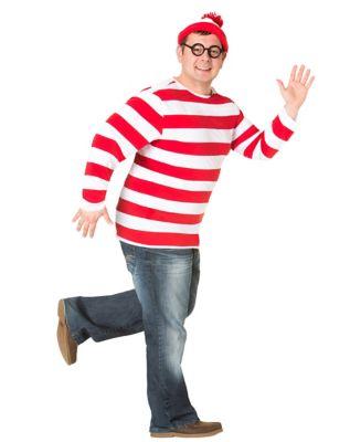 Adult Whereu0027s Waldo Plus Size Costume - Whereu0027s Waldo  sc 1 st  Spenceru0027s & Adult Gru Plus Size Costume - Despicable Me - Spenceru0027s