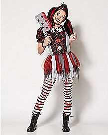 Killer Clown Halloween Costumes For Girls.Girl Clown Costumes Womenu0027s Killer Clown Costume Sc 1 St