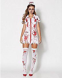 Adult Killer Caregiver Zombie Costume