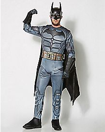 Adult Batman Costume - Batman Arkham & Cosplay Costumes | Harley Quinn Cosplay Costume - Spenceru0027s