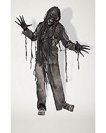 Adult Burning Dead Zombie Costume