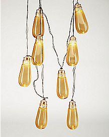 Edison Bulb Flickering String Lights