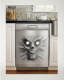 Demon Stainless Dishwasher Picture - Decorations