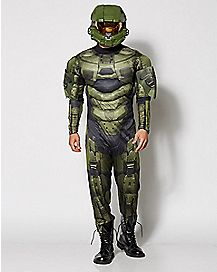 Adult Master Chief Costume - Halo Master
