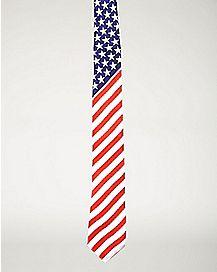 American Flag Tie