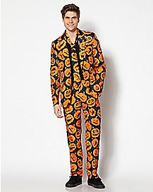 Adult Spooky Pumpkin Suit