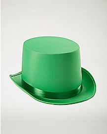 Green St. Patrick's Day Top Hat