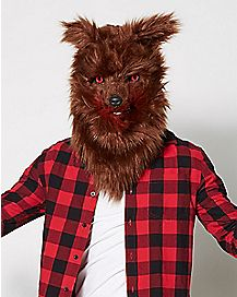 Adult Moving Mouth Wolf Mask
