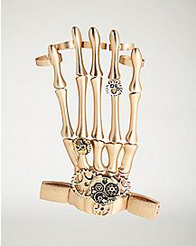 Steampunk Skeleton Hand Jewelry