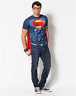 Caped Superman - Batman v. Superman: Dawn of Justice T Shirt - DC Comics