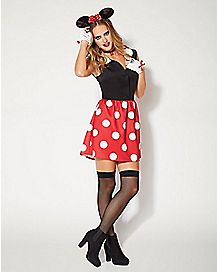 Adult Minnie Mouse Dress Costume - Disney