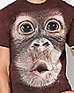 Monkey Face T Shirt