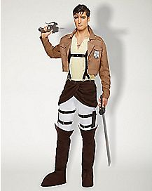 Adult Eren Jaeger Costume - Attack on Titan