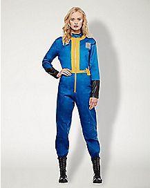 Adult Vault Suit Costume - Fallout