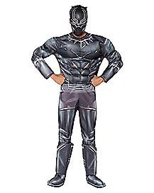 Adult Black Panther Costume Deluxe - Captain America: Civil War