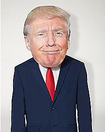 Smirking Trump Mask