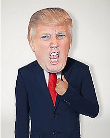 Yelling Trump Mask
