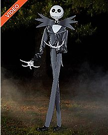 6 Ft Jack Skellington Animatronics Decorations - The Nightmare Before  Christmas e2105c668