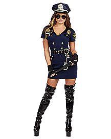 Adult Officer Pat U Down Cop Costume