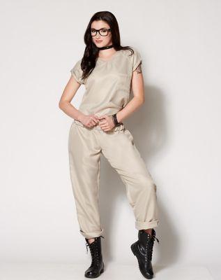 Adult Repeat Offender Tan Prisoner Costume & Adult Burglar Plus Size Costume - Spenceru0027s