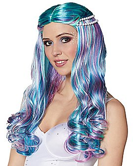 Beaded Mermaid Wig