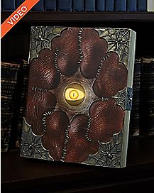 14 Inch Evil Eye Spell Book Animated Prop – Decorations