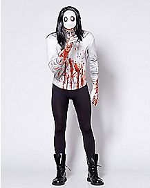 Adult Jeff the Killer Skin Suit Costume
