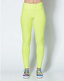 Neon Green Leggings