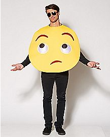 Rolling Eyes Emoji Costume