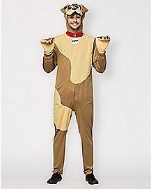 Adult Happy Dog Costume