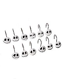 Jack Skellington Shower Curtain Hooks - The Nightmare Before Christmas
